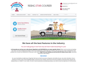 risingstarcourier.com