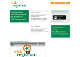 riskregistrar.com