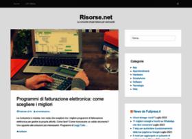 risorse.net