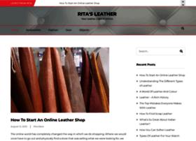 ritasleather.com