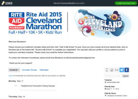 riteaidclevelandmarathon2015.sched.org