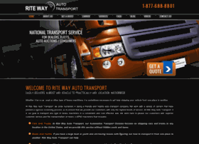 ritewayautotransport.com