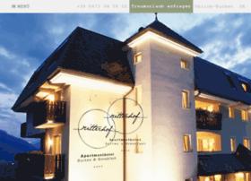 ritterhof.schenna.com