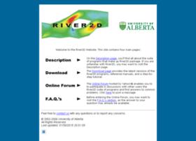 river2d.ualberta.ca