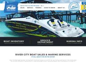 rivercityboatsales.com