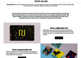 riverislandgiftcards.com