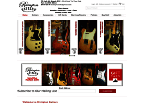 rivingtonguitars.com