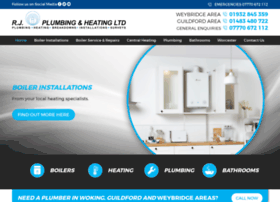 rjplumbingandheating.co.uk