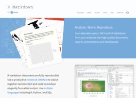 rmarkdown.rstudio.com