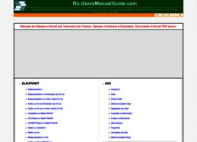 ro.usersmanualguide.com