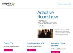 roadshow.adaptiveinsights.com