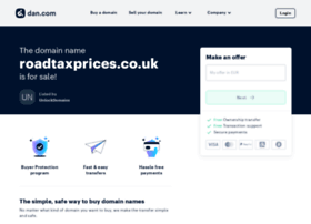 roadtaxprices.co.uk