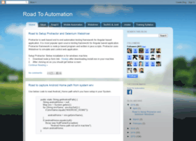 roadtoautomation.blogspot.in