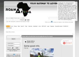 roamafrica.co.za