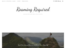 roamingrequired.com