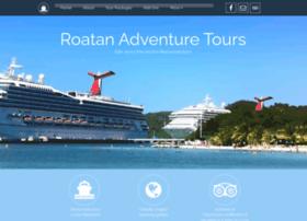 roatanadventuretours.net