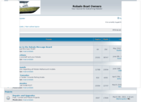 robaloboatowners.com