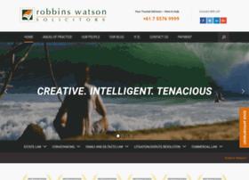robbinswatson.com.au