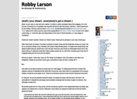 robbylarson.com