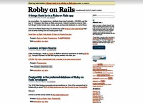 robbyonrails.com