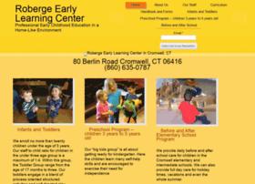 robergeearlylearningcenter.com