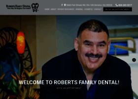 robertsfamilydental.com