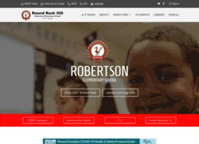 robertson.roundrockisd.org