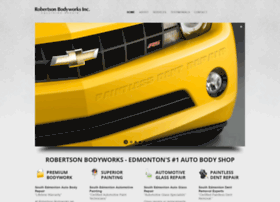 robertsonbodyworks.com