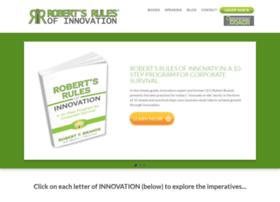 robertsrulesofinnovation.com