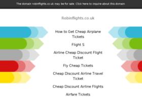 robinflights.co.uk