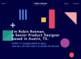 robinrotman.com