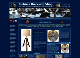 robinsdocksideshop.com