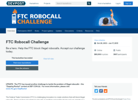 robocall.challengepost.com