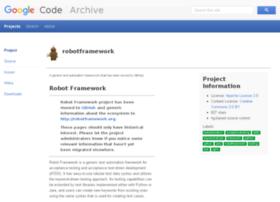 robotframework.googlecode.com