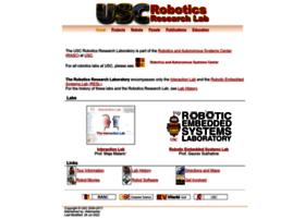 robotics.usc.edu