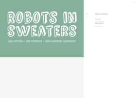 robotsinsweaters.com