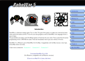 robowar.sourceforge.net