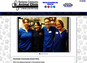 rochestercommunityanimalclinic.com