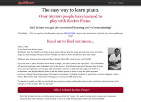 rocketpiano.com