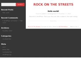 rockonthestreets.com