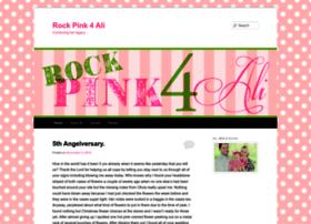rockpink4ali.com