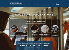 rockspringcontracting.com