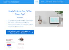 rockthestatusquo.com
