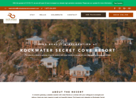 rockwatersecretcoveresort.com