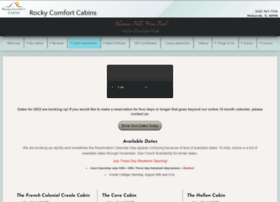 rockycomfortcabins.com