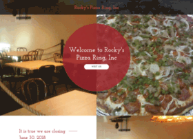 rockyspizzaring.com