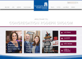 rodephsholom.org