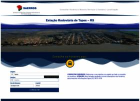 rodoviariatapes.com.br