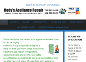 rodysapplianceserviceandrepair.com