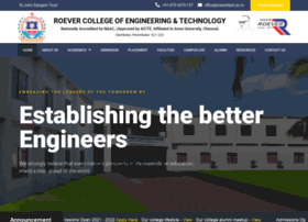 roevertech.ac.in